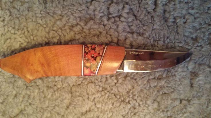 Vacker handgjord kniv - numrerad på Tradera.com - Jaktknivar och