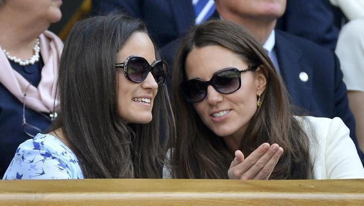 Catherine, duchessa di Cambridge e Pippa Middleton in Givenchy.