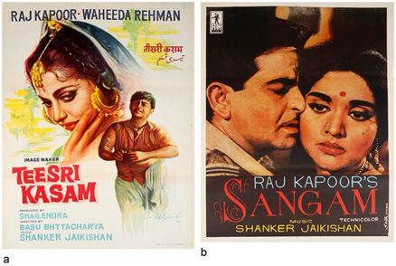 #TeesriKasam #Sangam #RajKapoor #MoviePosters #NoReserveAuction(Oct15-16,2014)