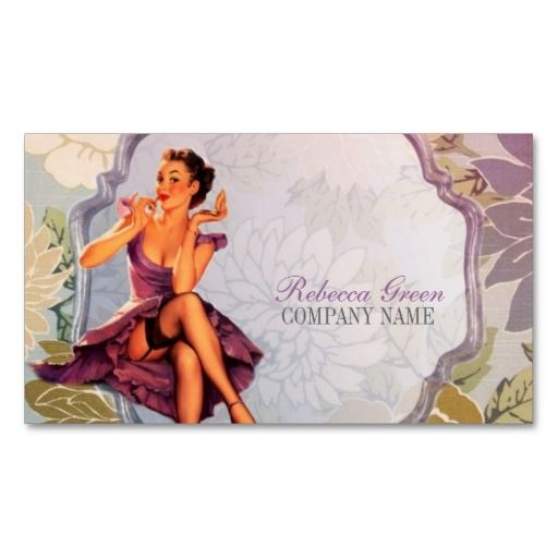 The 224 best pin up girl business cards images on pinterest pin up girl cosmetologist hair makeup artist business card colourmoves
