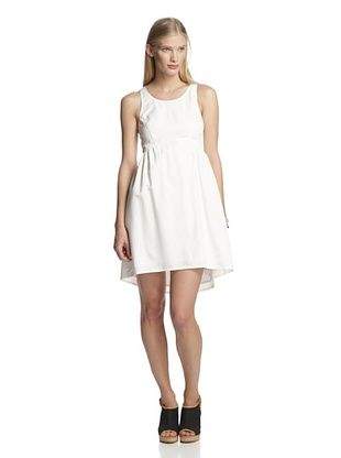 68% OFF French Connection Women's Single Pop Dress (Bianco)