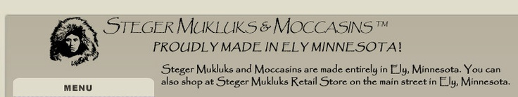 Home - Steger Moosehide Mukluks and Moccasins - The warmest winter boots!