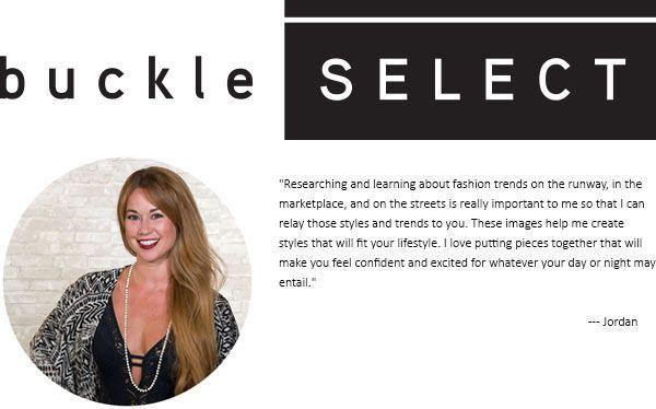buckle SELECT - Jordan Bergman | Survey Tools