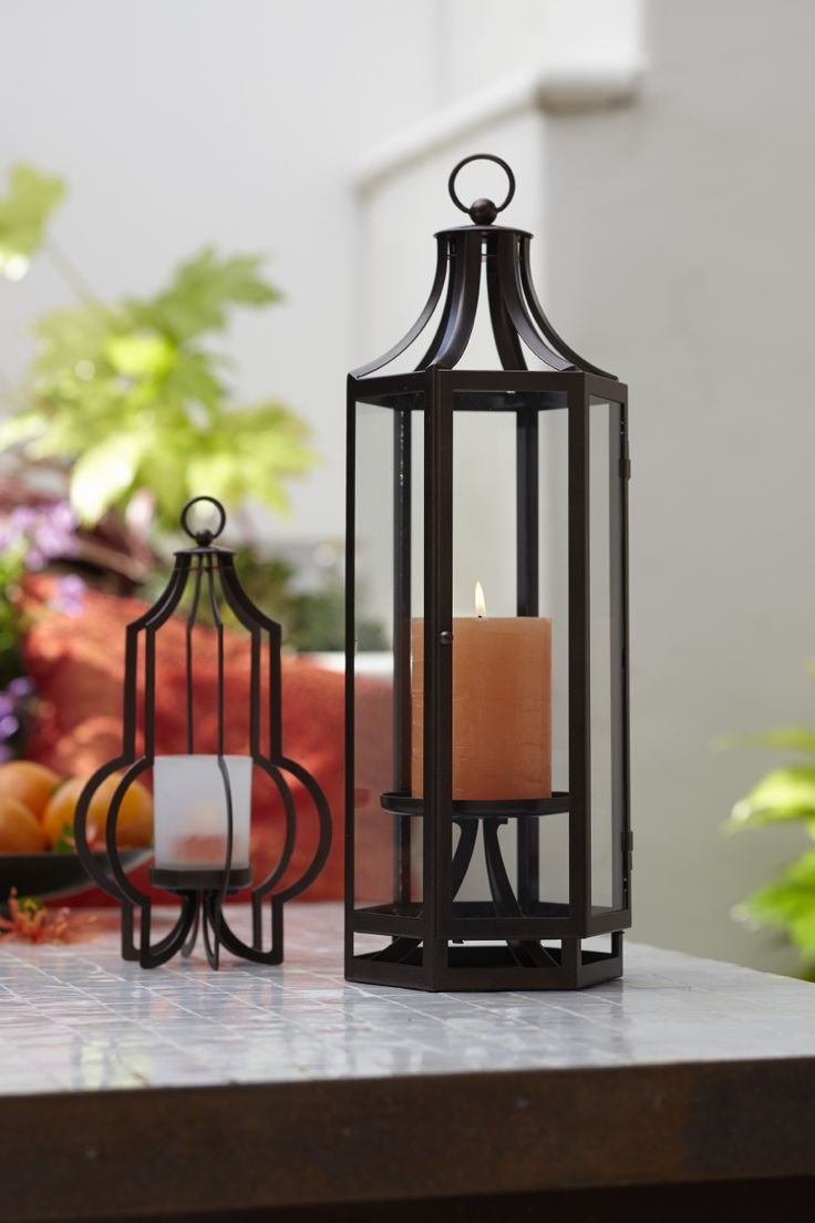 Marrakech Hanging Lantern and Stand from PartyLite