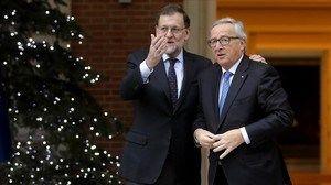 """Jean-Claude Juncker: """"España ya no es una preocupación"""" (claro que no, siguen gobernando sus perros falderos)"""