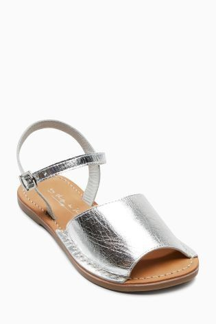 These silver peep toes are so cute for summer wear or even parties!