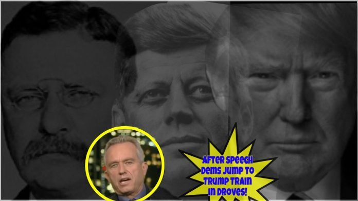 "BOMBSHELL! (Video) Robert F. Kennedy Jr: ""Trump Could Be Greatest President In History!"" ""Could easily be the Next Teddy Roosevelt."""