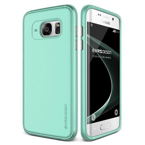 VRS Single Fit Samsung Galaxy S7 Edge Case - Ice Mint