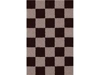 Walter E Smithe Furniture checkerboard rug