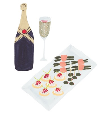 From a sow 39 s ear grace lee pinterest champagne and for Canape wines