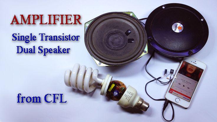 13003 CFL Transistor Amplifier Homemade - TRONICSpro | Diy ...