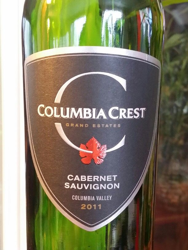 red wine columbia crest cabernet sauvignon washington usa dr jims wine reviews authentic oak red wine