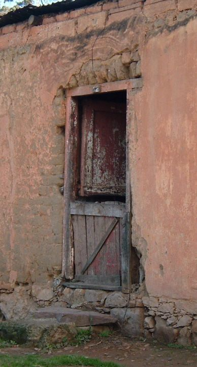 From an old slave's cottage in Genadendal, a remote village in the Western Cape in South Africa.