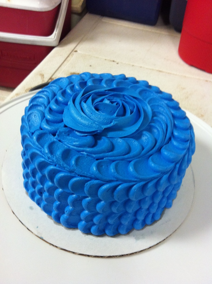34 best Cakes images on Pinterest Beautiful cakes Blue cakes