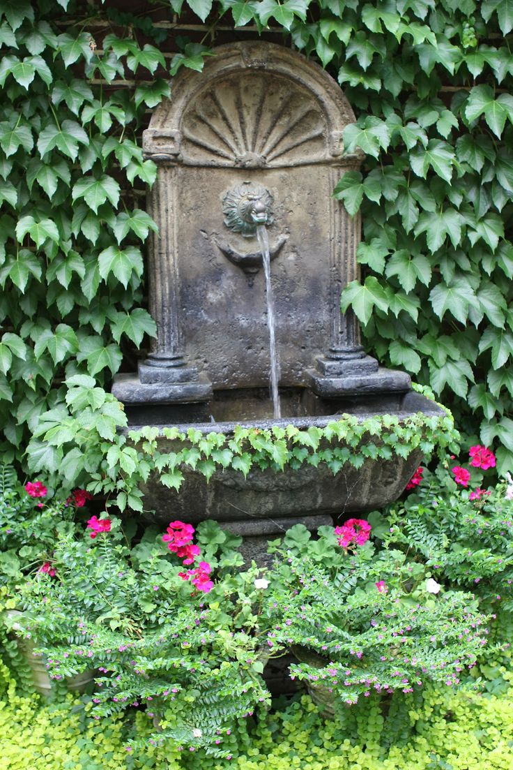 17 Best Images About Wall Fountain In Courtyard On 400 x 300