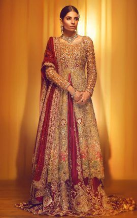 8f2d8d6957 Latest Asian Bridal Wedding Gowns Designs 2018-2019 Collection ...
