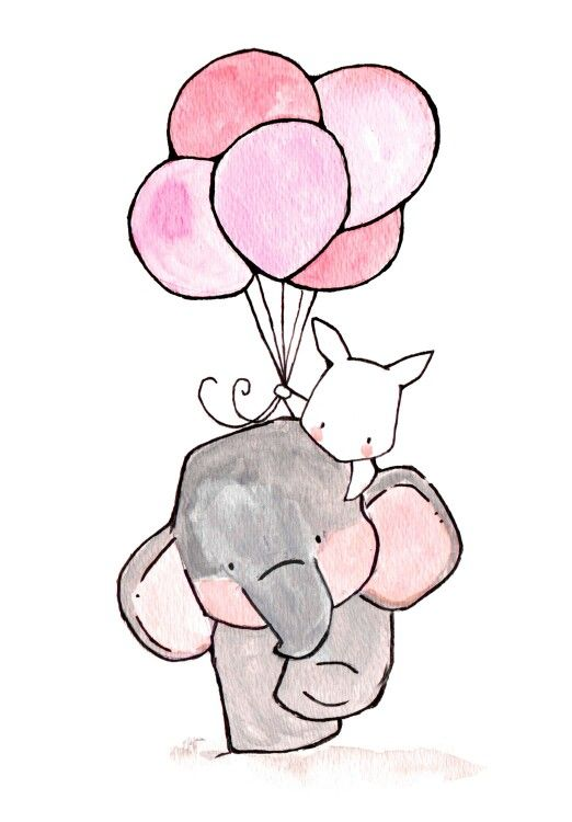 Lil elephant art