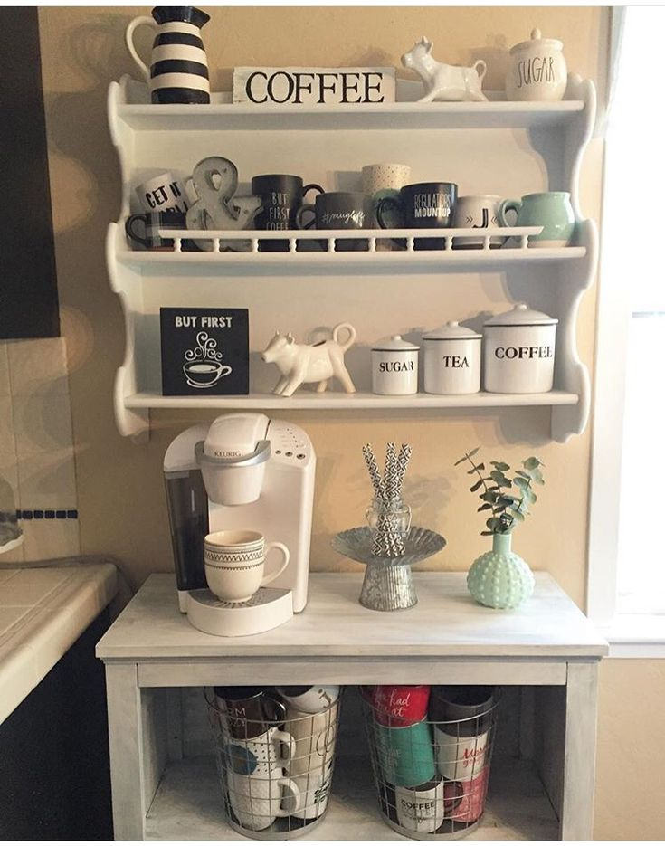 Best 25+ Coffee stations ideas on Pinterest | Coffee bar ...
