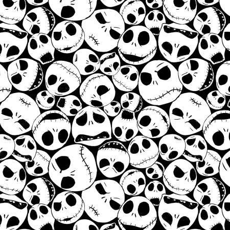 Packed Jack NBC Nightmare Before Christmas -1/2 yard - Funky Monkey Fabrics Inc.