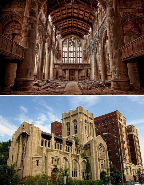 Abandoned City methodist church Gary indiana 1 - 7 Abandoned wonders of Institutional Architecture
