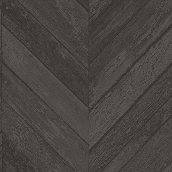 Transform Transform Dark Grey Herringbone Wood Peel And Stick Removable Wallpaper 108328 The Ho Herringbone Wood Peel And Stick Wallpaper Peel And Stick Wood