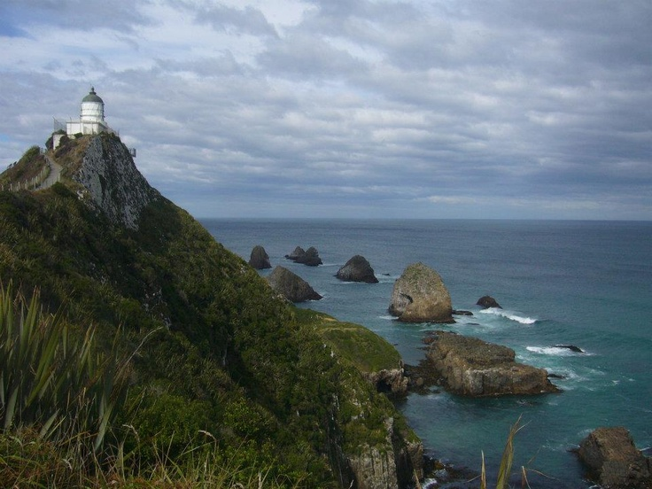 Nugget Point, Catlins   (First light 1870)