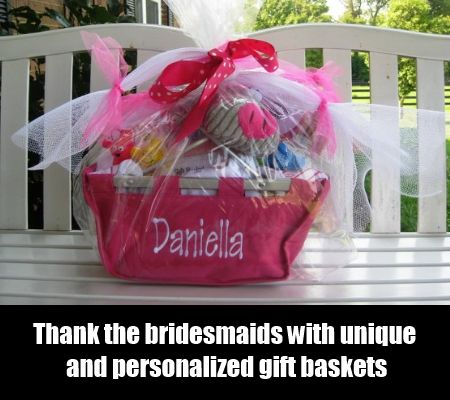 6 Ideas For Bridesmaid Gift Basket