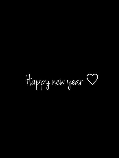Happy new year♥