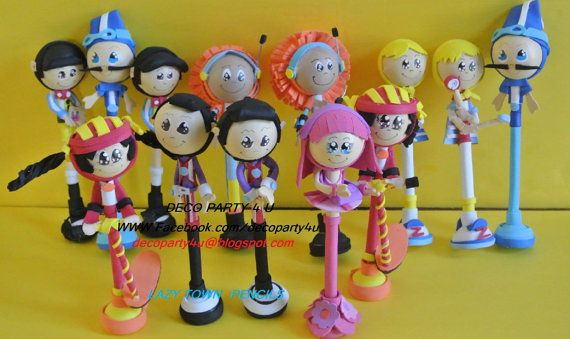 12 pcs lazy town pencils by decoparty4u on etsy - Outdoor swimming pool covent garden ...