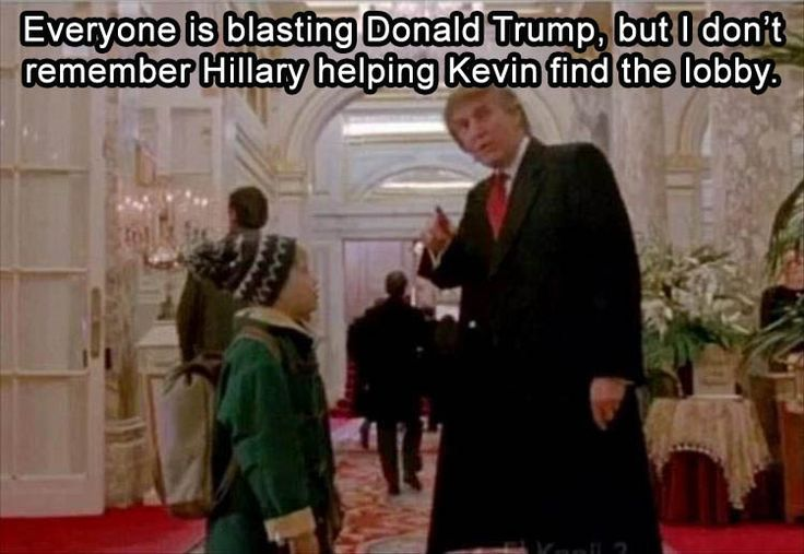 LOL at first I thought this was a campaign thing...then realiZed duh Home Alone. Love that movie