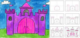 Art Projects for Kids: How To Draw a Castle