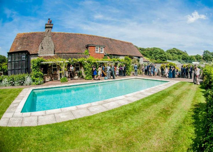 This is Birling Manor, the perfect place for an intimate wedding. See more images here: http://www.superevent.co.uk/your-sussex-wedding-birling-manor