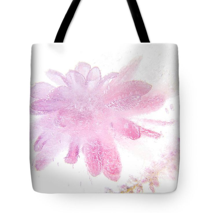 Beautiful Tote Bag featuring the photograph Pink Float by Zina Zinchik