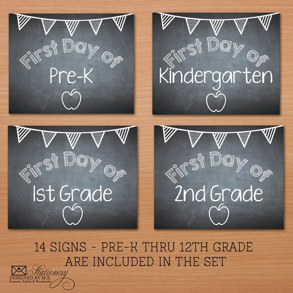 First day of school chalkboard sign template first day of school chalkboard sign classical for Printable chalkboard signs