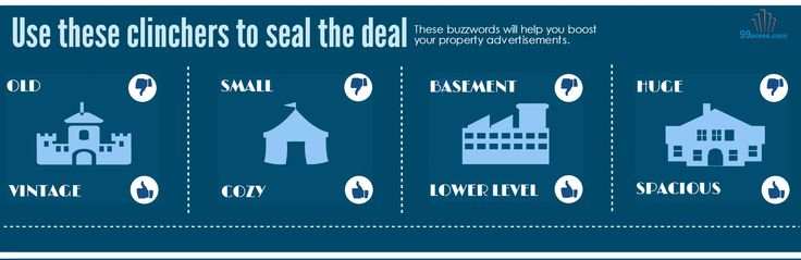 The #buzzwords which will help you #sell your #House  #Infographics #RealEstate #Tips