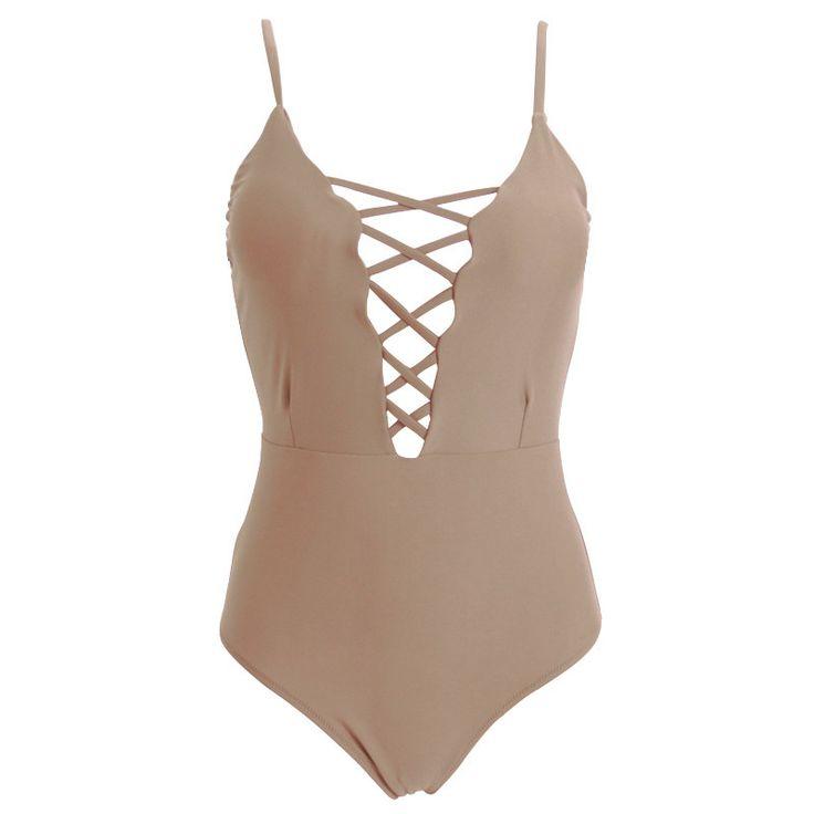 One Piece Swimsuit Sexy Swimwear Women Bodysuit Bathing Suit Swim Vintage Beach Wear Print Bandage Monokini Swimsuit