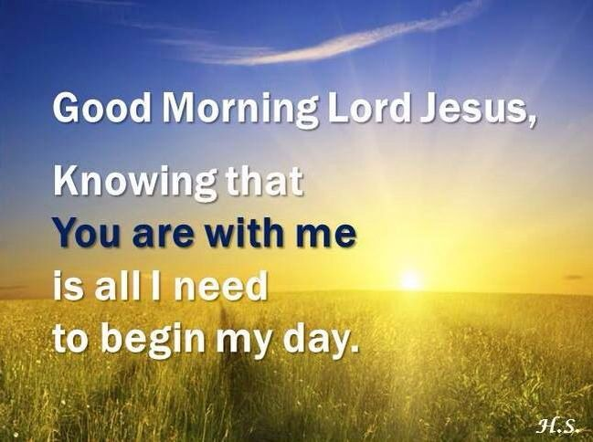 Good Morning Sunday Lord : Good morning lord jesus pinterest