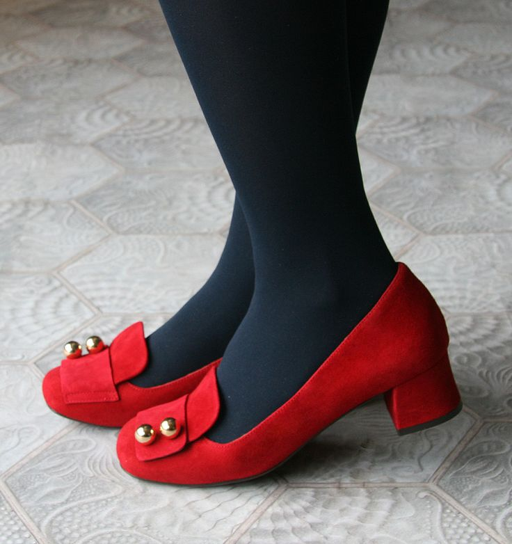 EDENA RED :: SHOES :: CHIE MIHARA SHOP ONLINE