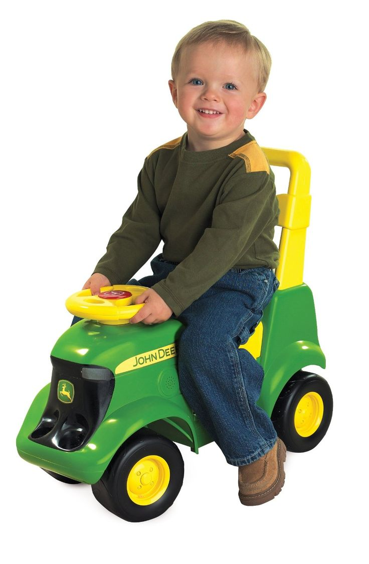 Toys-In-The-Garden-Tractor