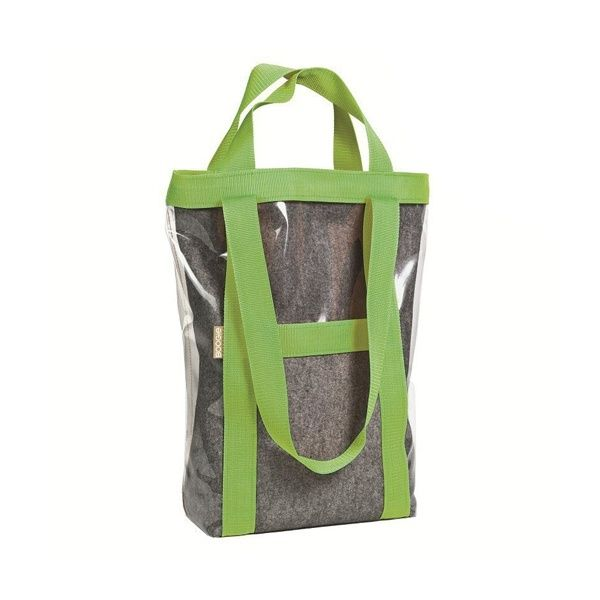 HOBO AIR bag - Boogie Design  HOBO AIR bag is made of a thin felt (wool + viscose), covered by a transparent, durable foil.