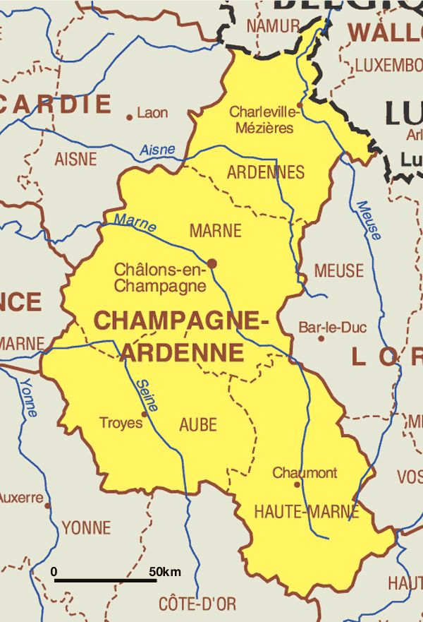 Best 25 Chagne Region France Ideas On Pinterest: Champagne France Map At Infoasik.co