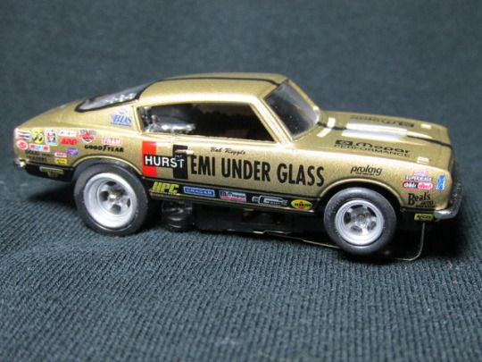 Custom Slot Super Stock Car #slot car #Bob Riggle #Wheelie Stander #dragster #Hemi Under Glass #4gear #drag racing #slot-car #slotcar #slot dragster #diecast #rlord75@ebay