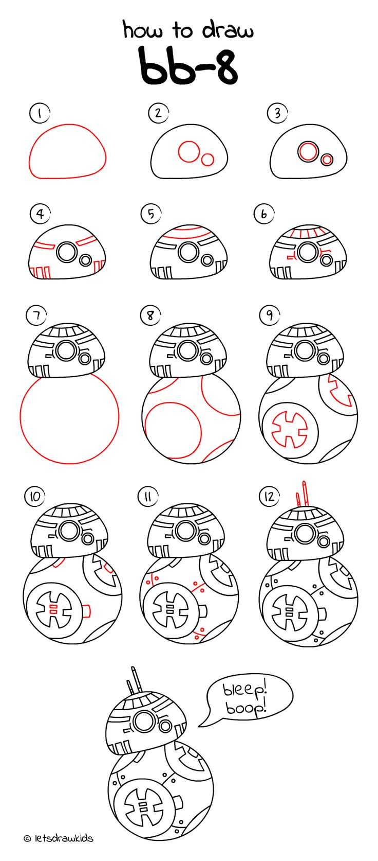 Uncategorized How To Draw Things For Kids best 25 easy drawings for kids ideas on pinterest fun how to draw bb 8 from star wars drawing step by step