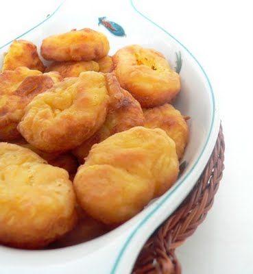 Pumpkin and cream cheese puffs