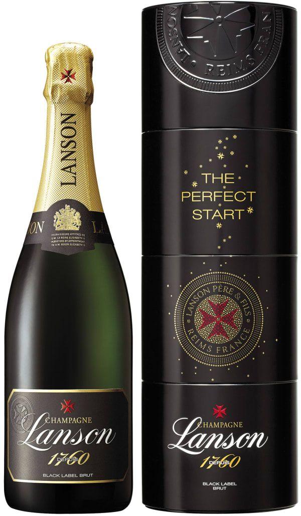 Lanson Black Label Champagne Brut. France: Pinot Noir, Chardonnay, Pinot Meunier. 45,31 €. Erittäin kuiva, erittäin hapokas, sitruksinen, viheromenainen, mineraalinen, kevyen mantelinen, hennon paahteinen, robusti