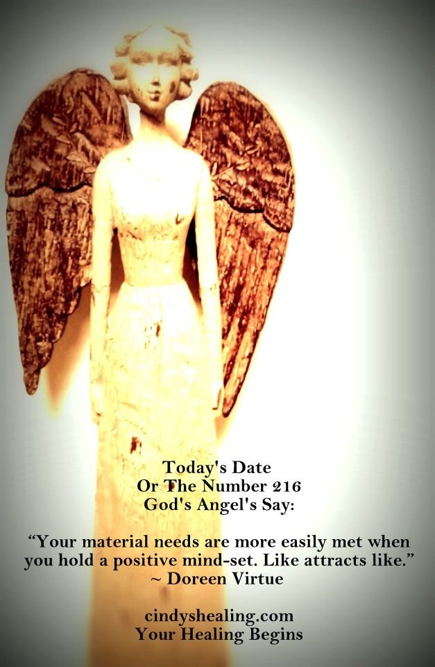 The Meaning Of Todays Date 216 3 Todays Date Angels Say