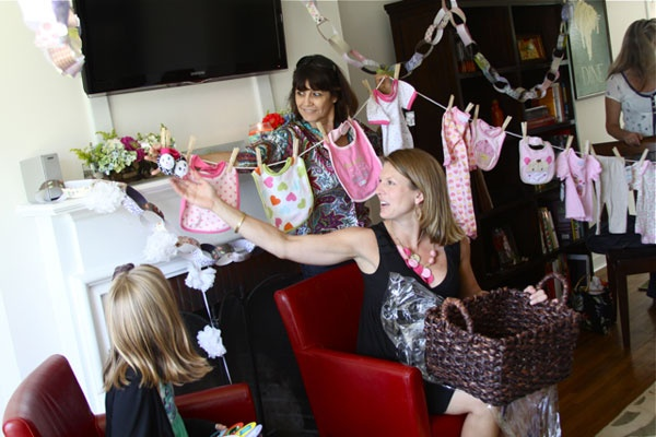 Onesie Gift Clothesline