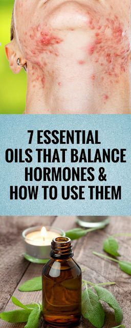 7 essential oils that balance hormones and how to use them.