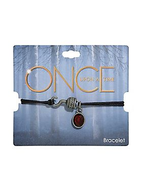 Hooked on this // Once Upon A Time Hook Cord Bracelet