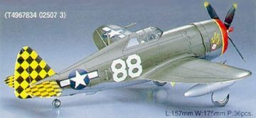 Hasegawa 02507 AT07 1/72 P-47D Razor Back